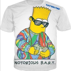 Other - 2 diff.Shirts Bart Simpson and another